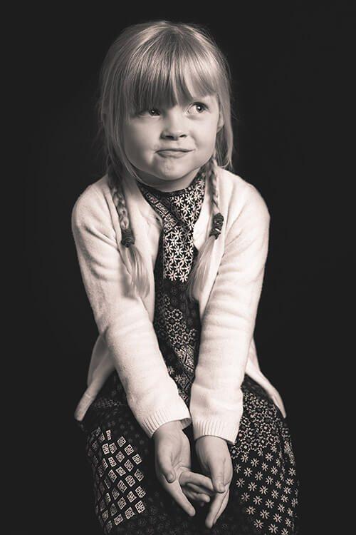 Sample Portrait - Iris