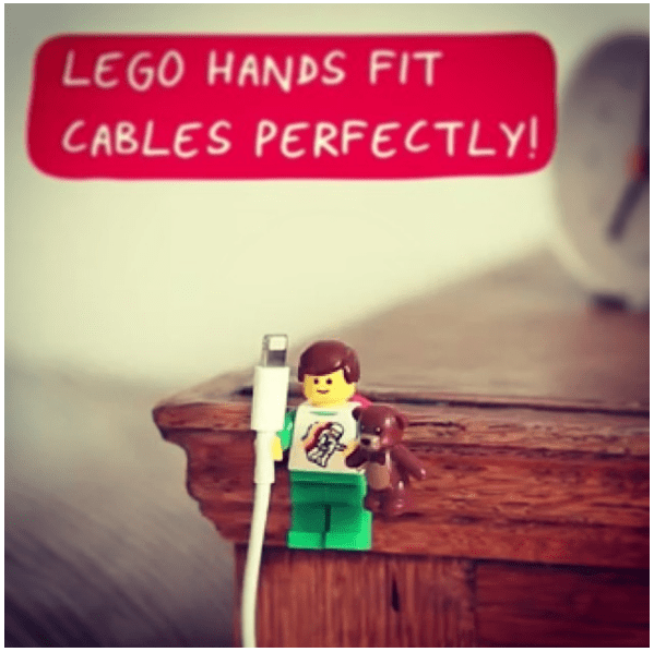 1 Lego hand holder via simphome