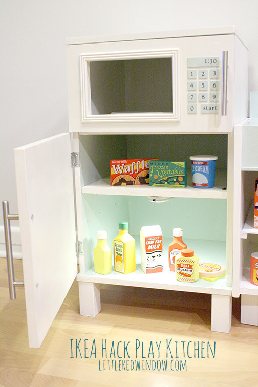 10 Make a play kitchen from Ikea nightstands 2 via simphome