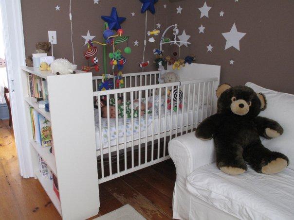 14 Add a Billy bookshelf to the Gulliver crib via simphome