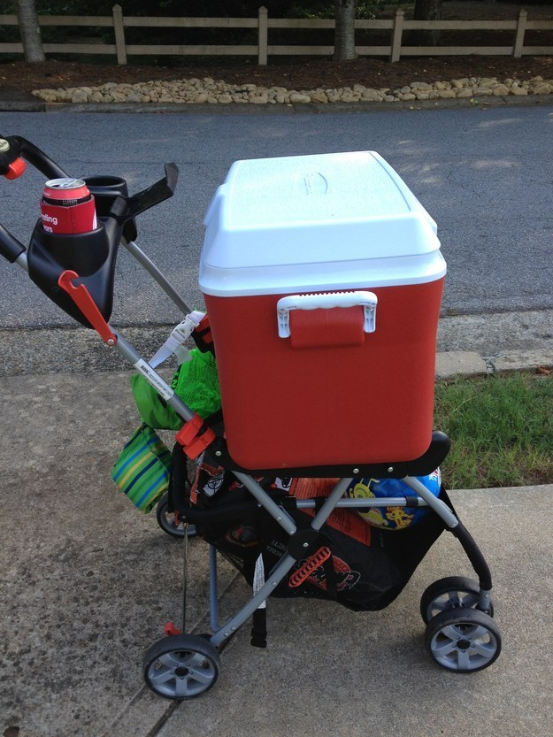 4 Stroller Trolley via simphome