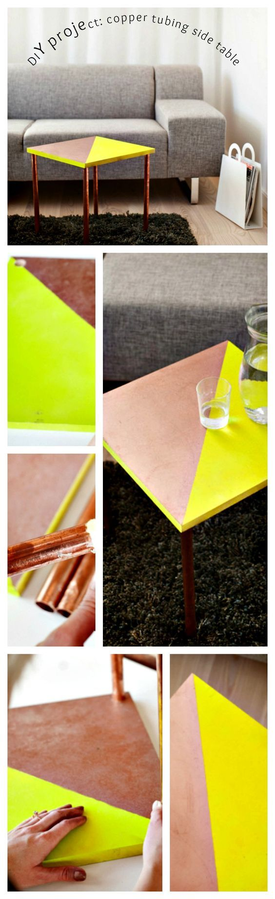 1 diy project copper tubing side table via simphome