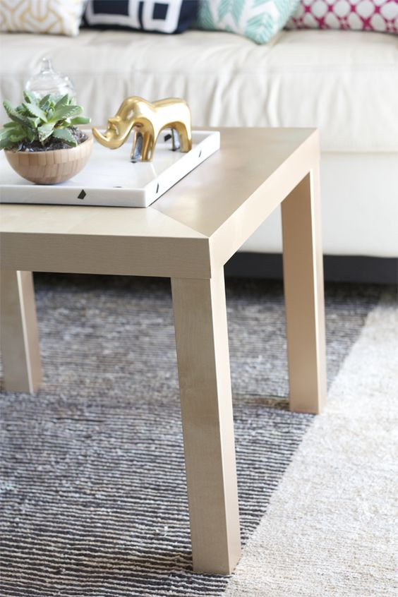 30 Extra IKEA Coffee Table Hack via simphome