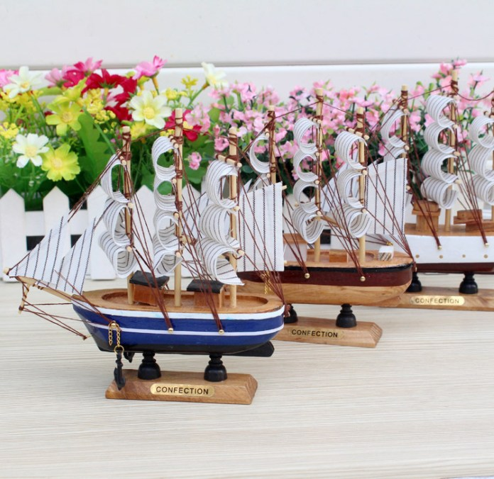 sailing boat miniature