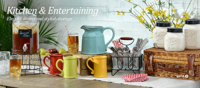 5 Kitchen and entertaining Kirkland decor via Simphome 1