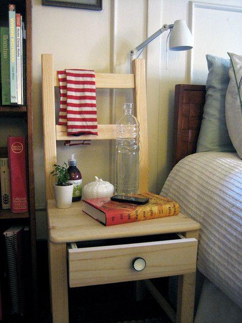 5 diy project to make ikea bedside chair via simphome