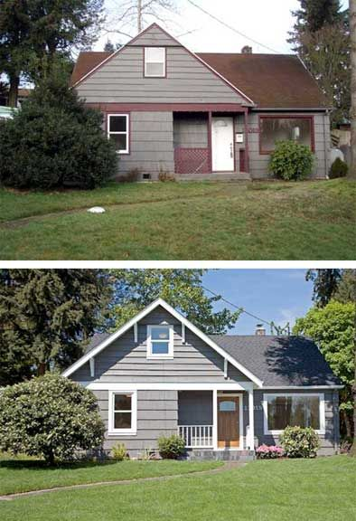 from dull house to beautiful house
