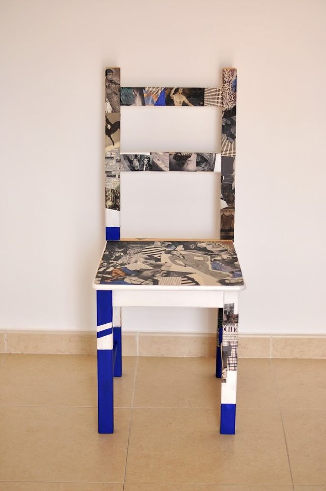 17 IKEA hack chair with some magazine papers 640x964 simphome com