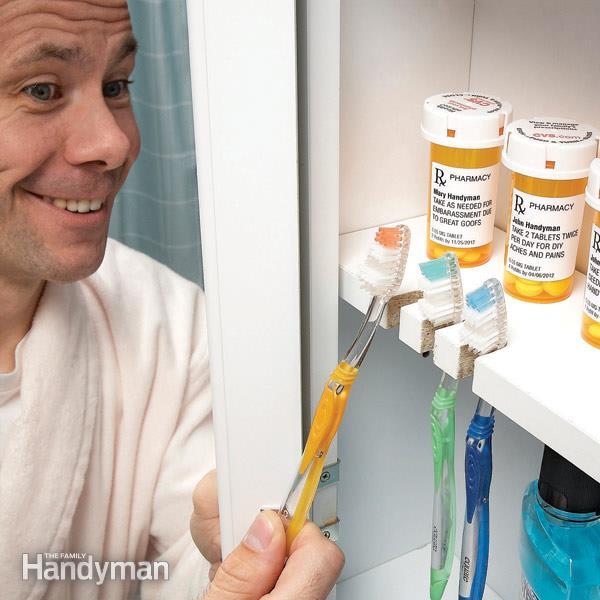 simphome toothbrush storage