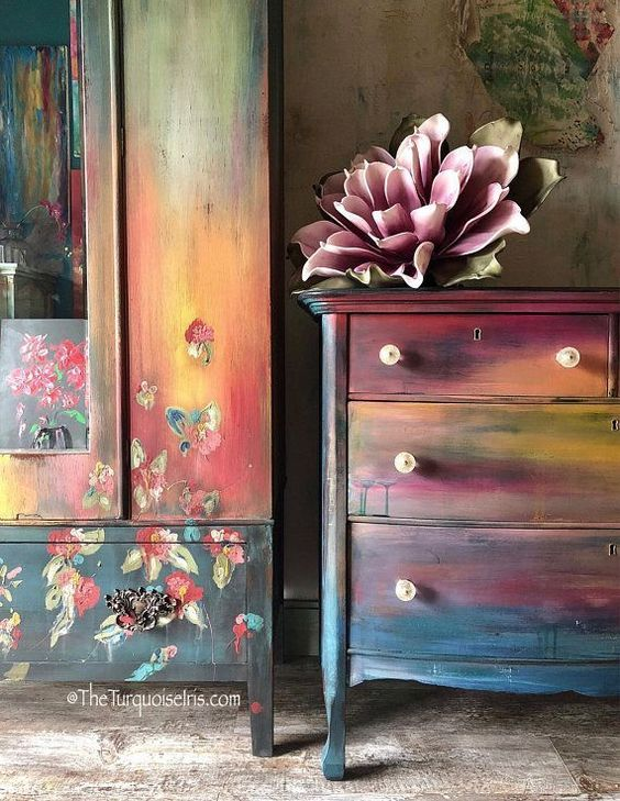 17 painted furniture