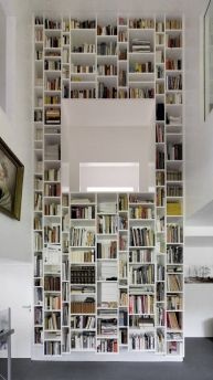 4 Two Stories Book Shelves Simphome com 1