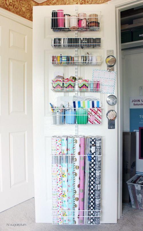 organized door