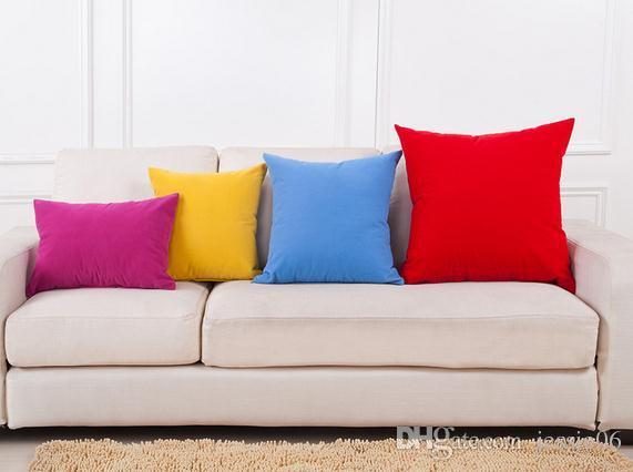 simphome colorful pillow
