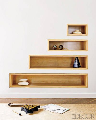 14 recessed shelf