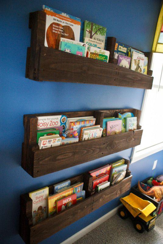 simphome pallet book storage
