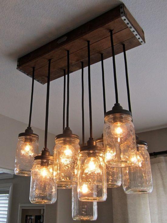 primitive hanging lamp
