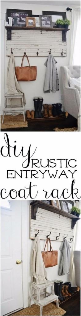 coat rack rustic