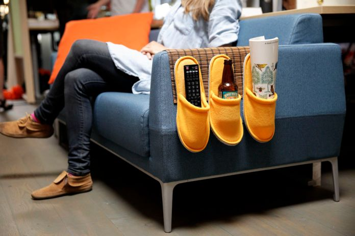 15.IKEA HACK: Couch Caddy.