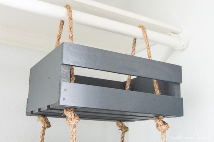 Hanging Storage Crate 10 Simphome com