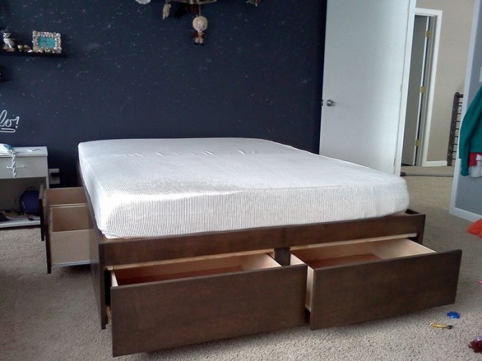 03 Do It Yourself Bed With Drawers Simphome com