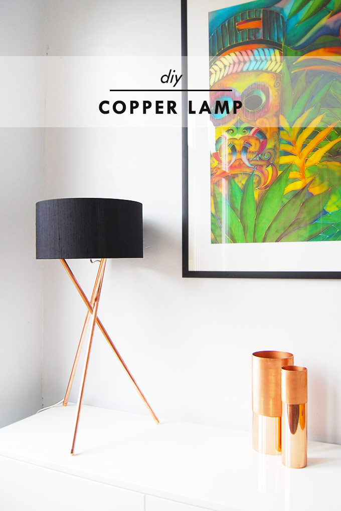 1 Copper Lamp Simphome com 1