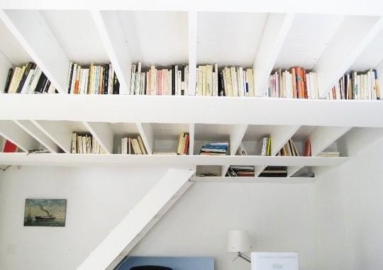 1 Making Shelves Near the Ceiling Simphome com