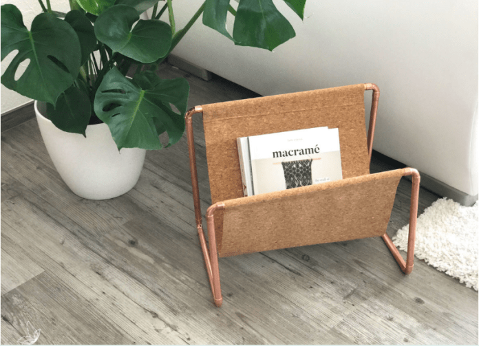 4 DIY Magazine Holder Simphome com