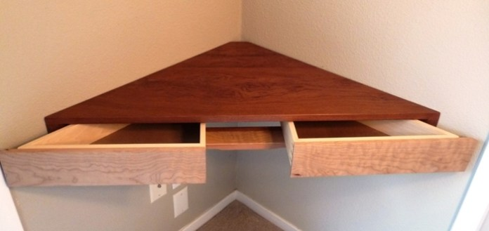 Floating Corner Shelf with Drawers Simphome com 15