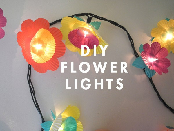 9 Cupcake Flower Lights Simphome com