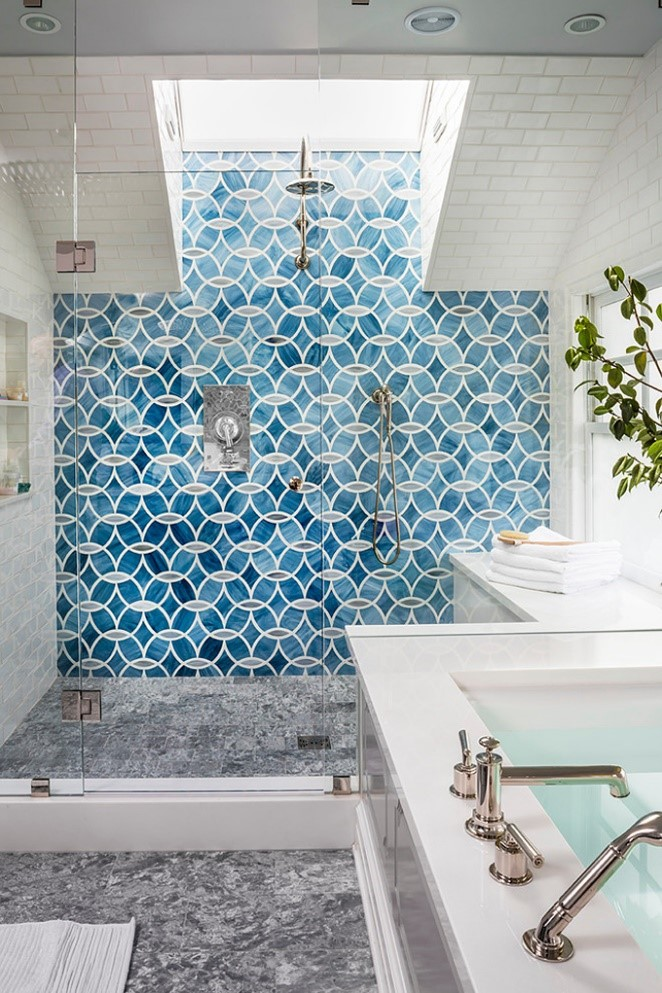 10 Artistic Turquoise Shower Tiles Simphome com