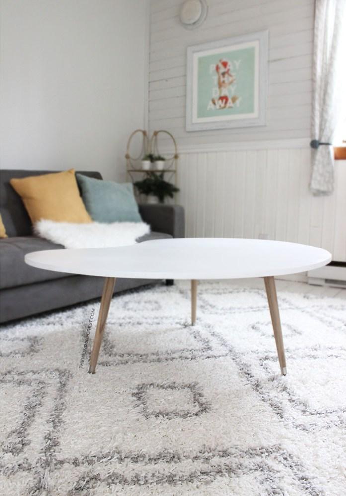 5 DIY Mid Century Modern Coffee Table Simphome com