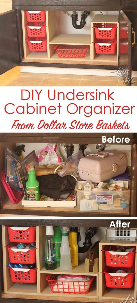 Under sink Cabinet Organizer Simphome com