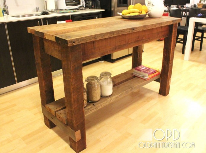 7 A Simple Kitchen Island idea Simphome com