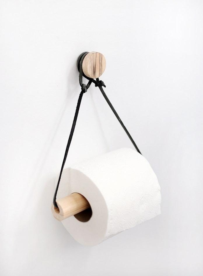 DIY TOILET PAPER HOLDER Simphome com