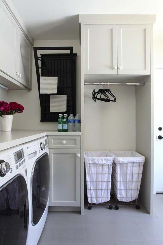 13 Inspiring small laundry room design ideas by Onekindesign Simphome