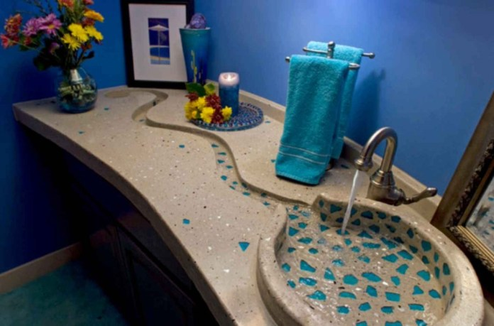 2 Unique and Elegant Concrete Sink Simphome com