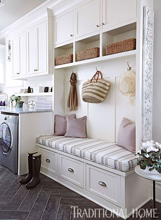 62 Vision for the Kitchen A Mudroom Entrance Simphome