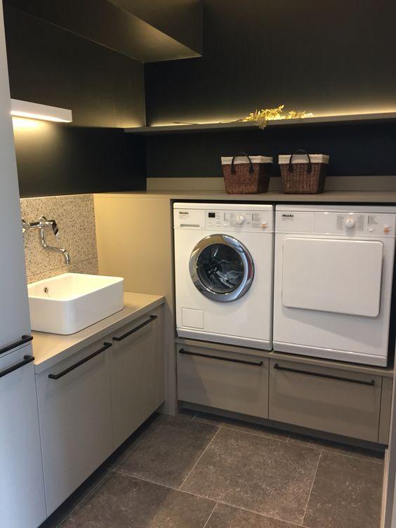 76 Washing machine dryer at height Simphome