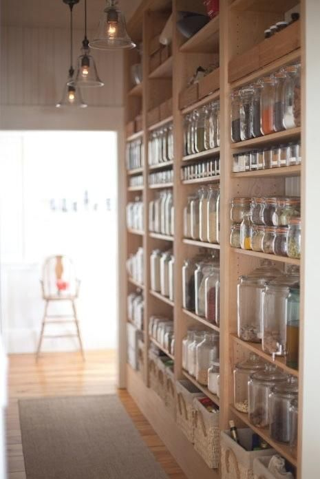 196 Kitchen organization idea Open Shelf Storage Roundup via simphome