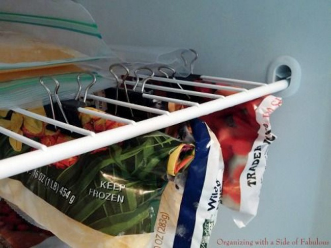 270 Use Binder Clips for Bagged Foods via simphome com