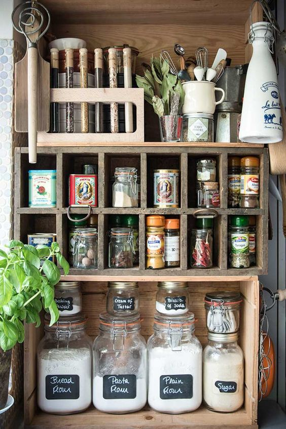 287 A Stylists tiny kitchen Space in Southeast London via simphome