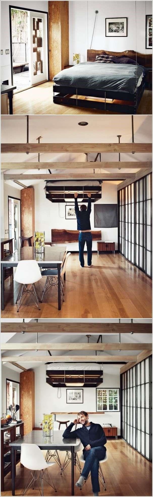 3 Retractable Bed via simphome