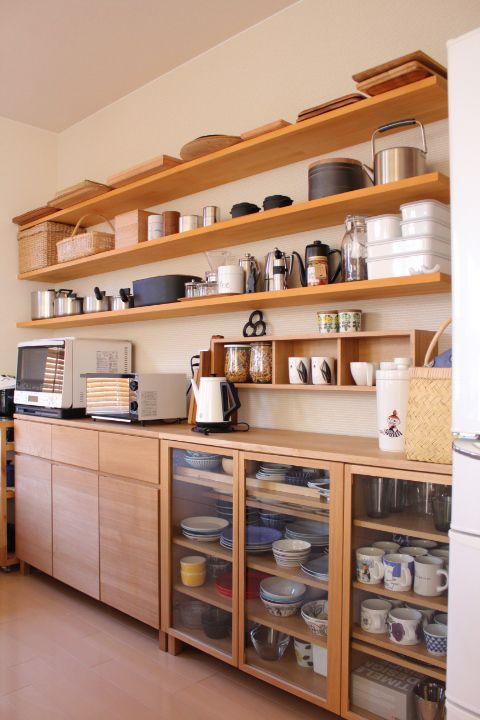 317 Wooden kitchen cabinet concept via simphome
