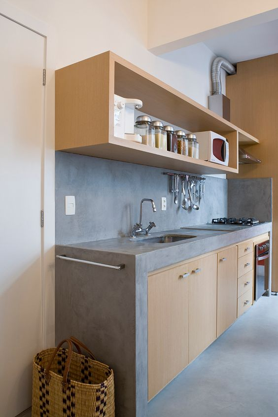 319 Behance rustic kitchen idea via simphome