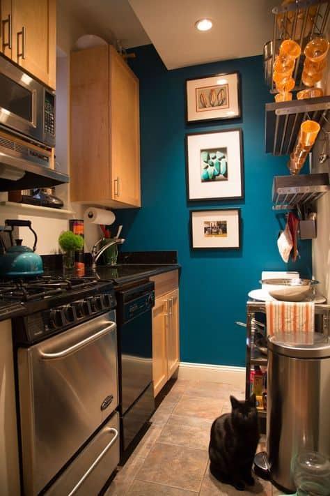 88 Paul and Simon kitchen painting via simphome