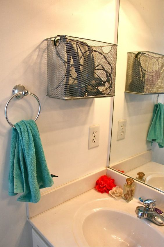1 Bathroom Appliance Storage via simphome