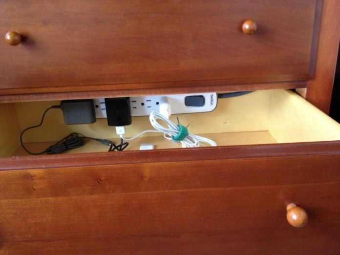 1 Drawer with Power Outlet via simphome