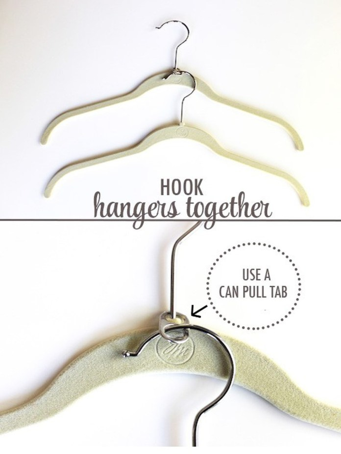 2 Can Pull Tabs to Hook Hangers Together via simphome