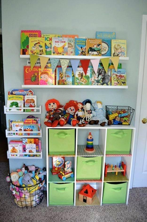 4 Toy Storage Ideas via simphome