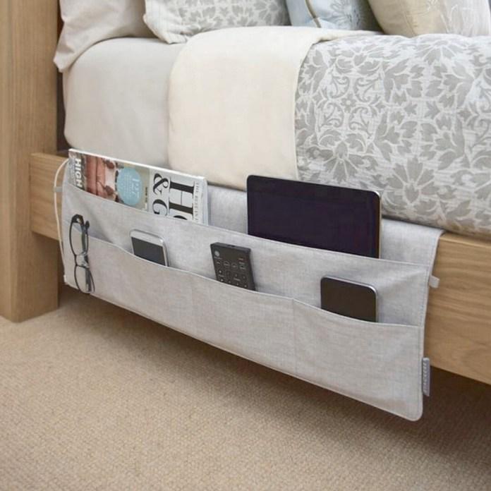 9 Bedside Storage Organizer via simphome